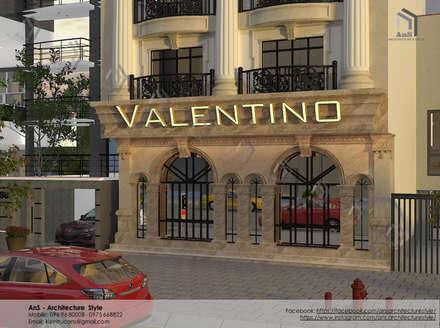 Dự án Khách sạn Valentino:  Khách sạn by AnS - Architecture Style