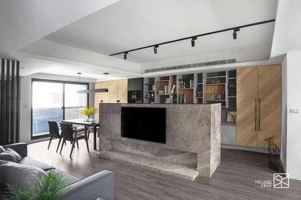 Phòng khách by 禾廊室內設計