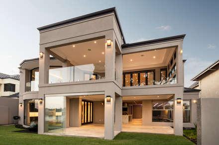 Exterior - Back of Home:  Detached home by Moda Interiors