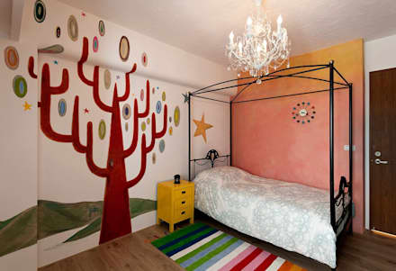 Girls Bedroom by Co*Good Design Co. Ltd.