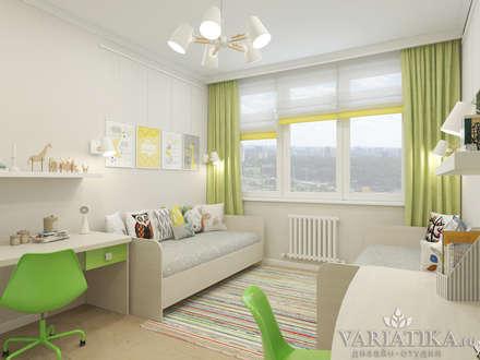chambre d 39 enfant minimaliste inspiration homify. Black Bedroom Furniture Sets. Home Design Ideas