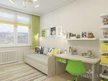 ЖК Московская 21 - 69 м²: Детские комнаты в . Автор – variatika
