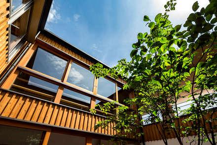 شبابيك خشبية تنفيذ 中山大輔建築設計事務所/Nakayama Architects