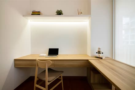 SKY HABITAT: scandinavian Study/office by Eightytwo Pte Ltd