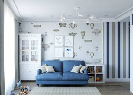 Boys Bedroom by MonDesign