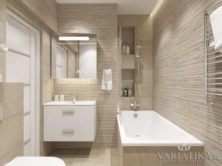 minimalistic Bathroom by variatika
