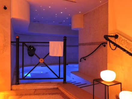 spa: Spa in stile in stile Moderno di Francesca Di Mario - Fotografo