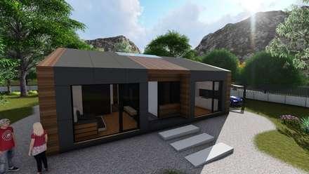 Viviendas prefabricadas modelo Premium: Casas de estilo moderno de A-kotar