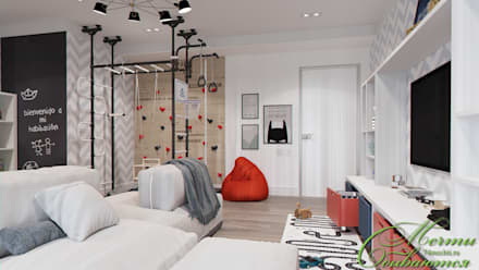 Boys Bedroom by Компания архитекторов Латышевых 'Мечты сбываются'