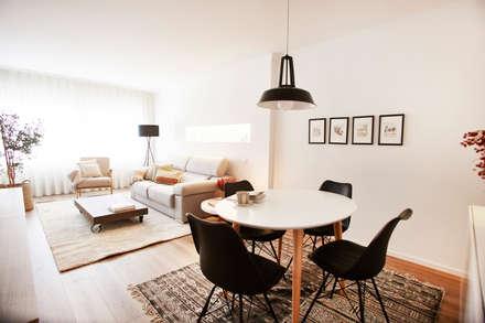 غرفة السفرة تنفيذ Laia Ubia Studio
