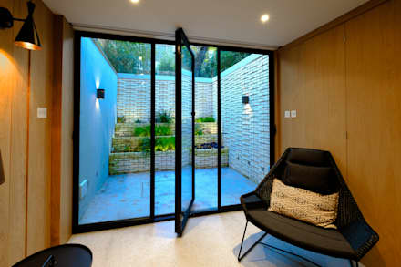 Gibson Square :  Doors by IQ Glass UK