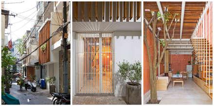 3x9 house:  Nhà by a21studĩo