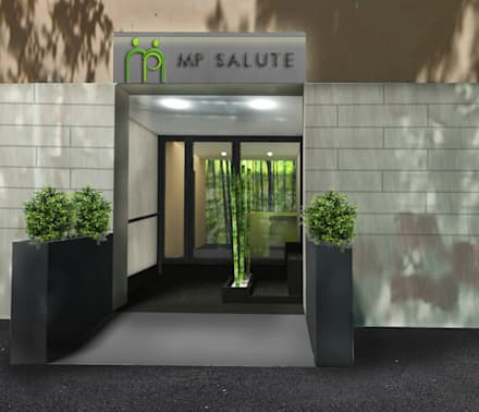 Ingresso corridoio scale in stile scandinavo homify homify - Scale ingresso esterno ...