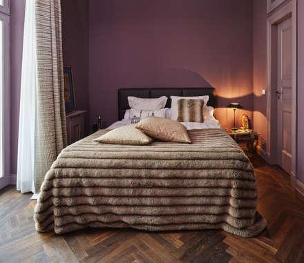 Wohnungsumbau in Berlin: klassische Schlafzimmer von Nailis Architekten