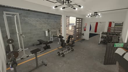 Ruang Fitness by Summa Arquitectura