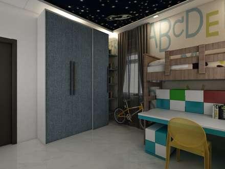 Kids Bedroom:  Boys Bedroom by Regalias India Interiors & Infrastructure
