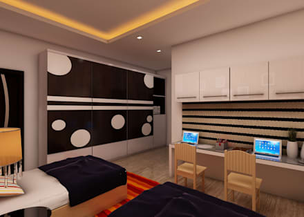 Boys Bedroom by Regalias India Interiors & Infrastructure