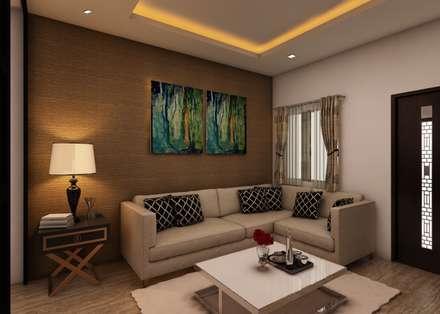 Living Room Classic By Regalias India Interiors Infrastructure
