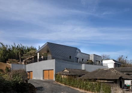 DASA House: 'Snow AIDe의  전원 주택