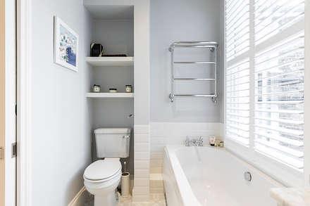 Jess & Hugo's Shepherd's Bush Renovation: classic Bathroom by Model Projects Ltd