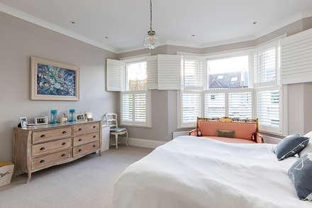 Jess & Hugo's Shepherd's Bush Renovation: classic Bedroom by Model Projects Ltd