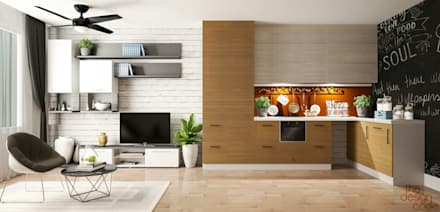 Kitchen units by The Design Code