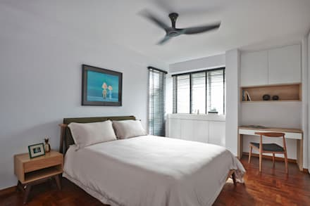 CLEMENTI PARK: scandinavian Bedroom by Eightytwo Pte Ltd