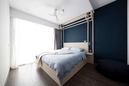 ECOPOLITAN: scandinavian Bedroom by Eightytwo Pte Ltd