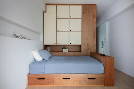 THE STELLAR: scandinavian Bedroom by Eightytwo Pte Ltd