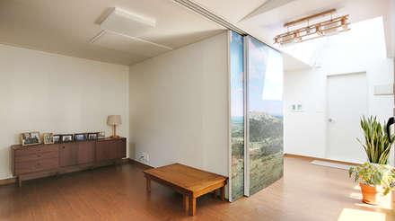 Asiatische Wohnzimmer Von 주식회사 착한공간연구소