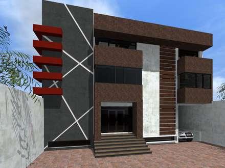 Edificios de oficinas ideas im genes y decoraci n homify for Edificios modernos minimalistas