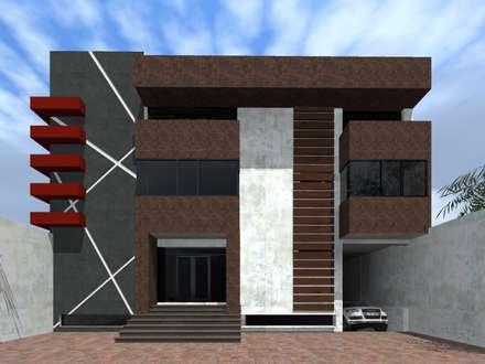 Edificios de oficinas ideas im genes y decoraci n homify for Edificios minimalistas
