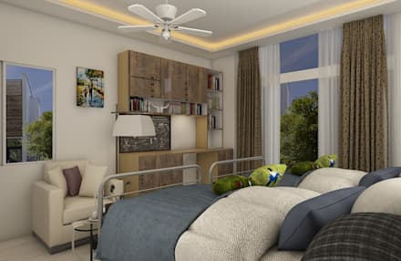 Kid's Bedroom:  Boys Bedroom by Regalias India Interiors & Infrastructure