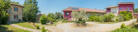 Cascine Crema: Casa di campagna in stile  di Andrea Chiesa è Progetto Immagine