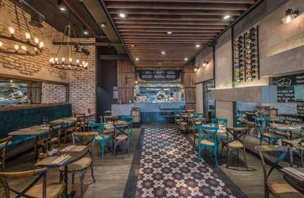Zoffoli Arquitectura의  레스토랑