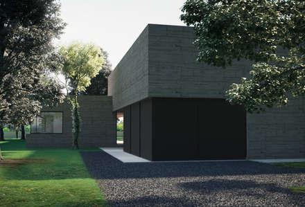 Puertas de garaje de estilo  de ASVS Arquitectos Associados