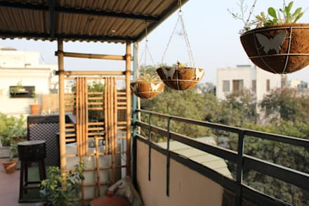 Terrace Garden at Defence Colony:  Roof by Grecor