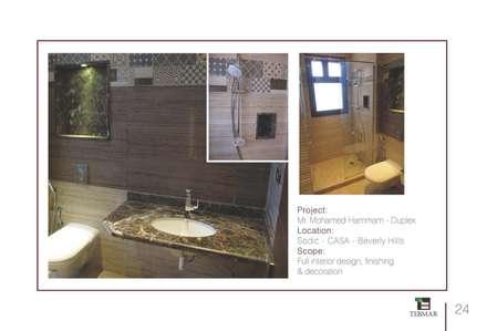 Sodic, Casa, Beverly Hills:  حمام تنفيذ Tebmar