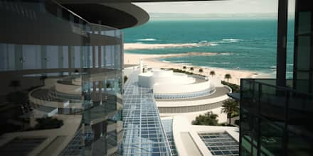 Sea View from VIP Patient Floor:  Hospitals by SPACES Architects Planners Engineers