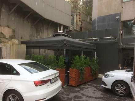 Edificios de Oficinas de estilo  por Akaydın şemsiye