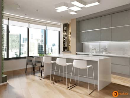 Built-in kitchens by Art-i-Chok
