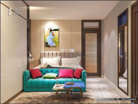 CHUNG CƯ Z133:  Phòng ngủ by ITALIC DECOR