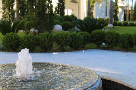 Detalhe Fonte: Jardins clássicos por Maria Luiza Aceituno arquitetos