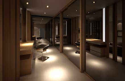 Walk in Closet:  Ruang Ganti by Lighthouse Architect Indonesia