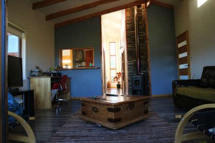 Casa Las Lomitas de Panguilemu: Livings de estilo rural por casa rural