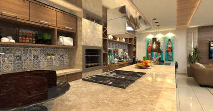 Garages de estilo moderno por  Sotto Mayor Arquitetura e Urbanismo