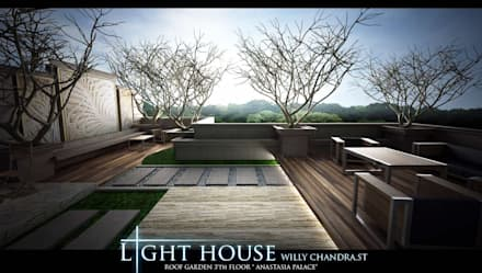 classic Garden by Lighthouse Architect Indonesia
