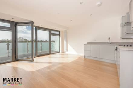 NEW BUILD LONDON PENTHOUSE:  Floors by The Market Design & Build