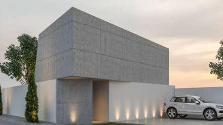 Casas unifamiliares de estilo  por Mexikan Curious