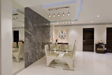 Dining Room: modern Dining room by The Workroom
